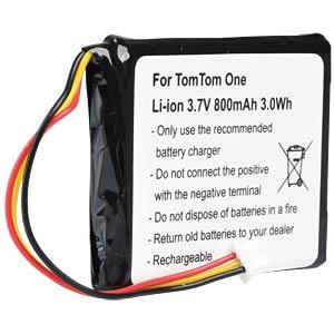 GPS Navigations-Akku für TomTom One, 800 mAh FREI