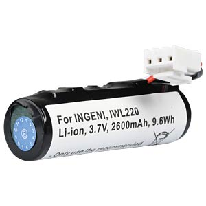 2600 mAh, Li-Ion for INGENCIO IWL220 FREI