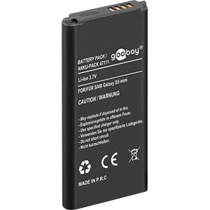 1900 mAh, Li-Ion, for Samsung Galaxy S5 mini FREI