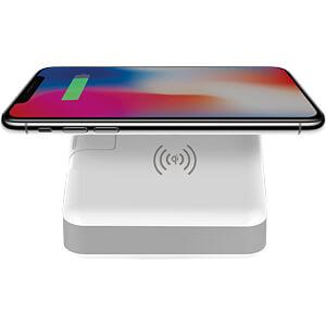 USB charger + QI power bank SMRTER