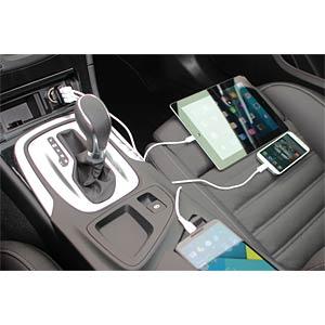 USB-Ladegerät, 5 V, 4400 mA, Kfz HYCELL 1000-0009