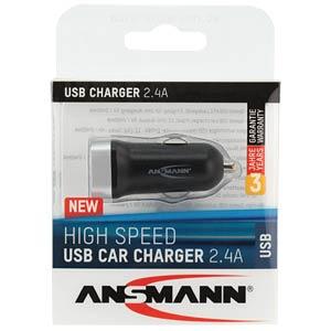 USB-Ladegerät, 5 V, 2400 mA, Kfz ANSMANN 1000-0014