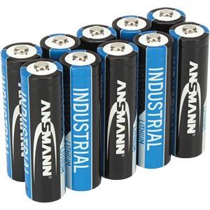 ANSMANN Industrial lithiumbatterijen Mignon-AA 10 stuks ANSMANN 1502-0005