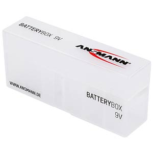 Batteriebox für 6 9-V-Blöcke ANSMANN 1900-0036