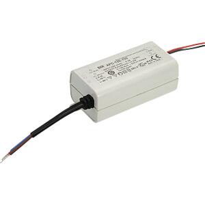 LED-Trafo, 12,6 W, 9-36 V DC, 350 mA MEANWELL APC-12E-350