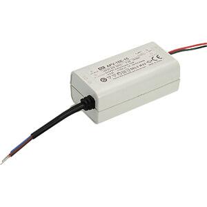 LED-trafo, 13 W, 5 V DC, 2600 mA MEANWELL APV-16E-5