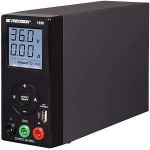 Laboratory compact power supply unit 1 - 36 V DC/100 W B&K PRECISION BK-1550