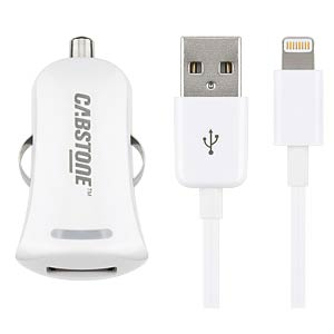 Cabstone car charger + Apple Lightning cable CABSTONE 63306