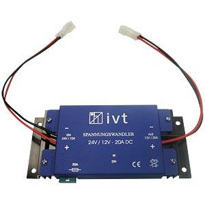 Spannungswandler, 18 - 32 V IVT GMBH 400007