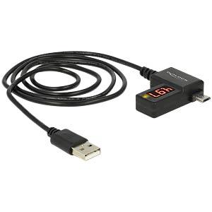 1-Port USB wattmeter, volts, amps DELOCK 83569