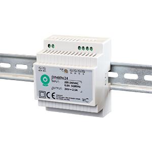 Schaltnetzteil, Hutschiene, 60 W, 12 V, 5 A POS POWER DIN60W12