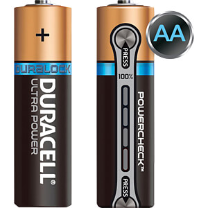 Duracell Ultra Power, 4xMignon met Power Check DURACELL MX1500 AA (LR03)