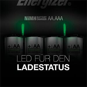 Steckerladegerät, NiCd, NiMh - BASE ENERGIZER CHVC4