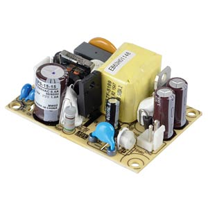 Power supply 15 V, 1 A MEANWELL EPS-15-15