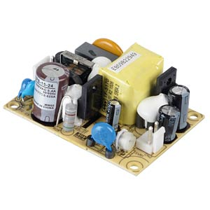 Power supply 24 V, 0.625 A MEANWELL EPS-15-24