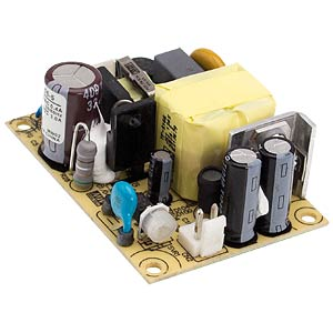 Power supply 5 V, 3 A MEANWELL EPS-15-5