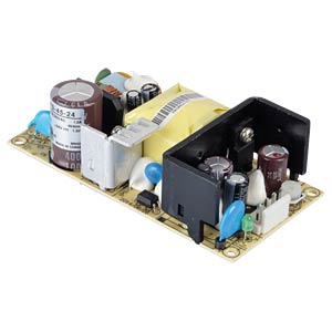 Schaltnetzteil, Open-Frame, 45,6 W, 24 V, 1,9 A MEANWELL EPS-45-24
