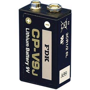 FDK lithium cells, 9-volt block FDK CP-V9J