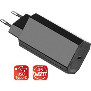 USB-Ladegerät, USB-C, 45 W, USB (PD) FONTASTIC 252600