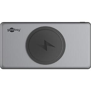 Powerbank, Li-Po, 10000 mAh, USB-C, Wireless, Quick Charge GOOBAY 55152