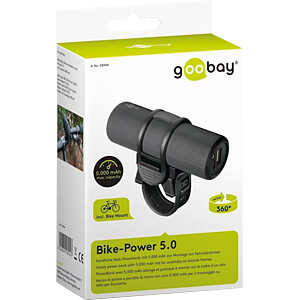 Powerbank, Li-Ion, 5200 mAh, USB, Bike-Power GOOBAY 58944