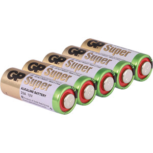 Alkaline Batterie, 23 A, 5er-Pack GP-BATTERIES 10023AC5