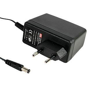 Single output power supply 24 V, 0.62 A MEANWELL GS15E-6P1J