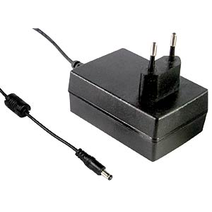 Single output power supply 12 V, 2.08 A MEANWELL GS25E12-P1J