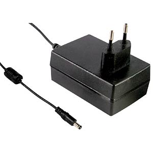 Plug-in power supply 18W, 12 V / 1,5 A MEANWELL GST18E12-P1J
