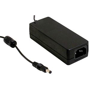 Desktop power supply, 40 W, 24 V / 1,67 A MEANWELL GST40A24-P1J