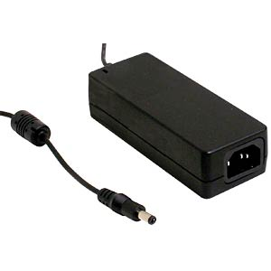Desktop power supply, 30 W, 5 V / 6 A MEANWELL GST60A05-P1J