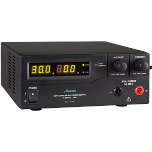 Programmable laboratory power supply, 1-30 V, 0-15 A MANSON HCS-3302