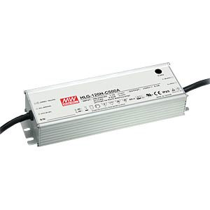 LED power supply, IP65, 155 W, 74 - 148 V/1050 mA MEANWELL HLG-120H-C1050A