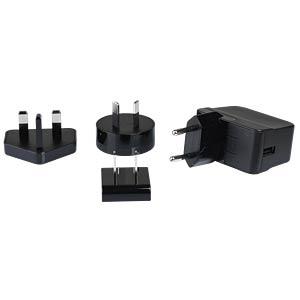 USB Steckernetzteil, 12 W, 5 V, 2400 mA HN-ELECTRONIC HNP12I-USBL6