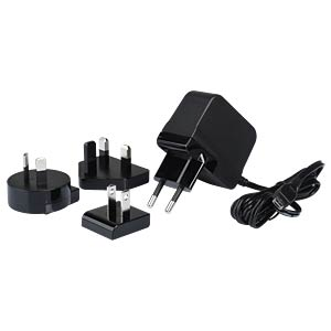Plug in switching adaptor 12,5 W, 5 V, 2,5 A HN-ELECTRONIC HNP15I-MICROUSBL6