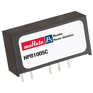 DC/DC Konverter HPR1XXC-Serie 0,75W, 5V DC, SIP, Single MURATA POWER SOLUTIONS HPR112C