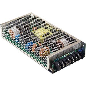 Switching power supply, PFC, 200 W, 48 V/4.3 A MEANWELL HRP-200-48