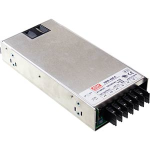 Switching power supply, PFC, 450 W, 5 V/90 A MEANWELL HRP-450-5