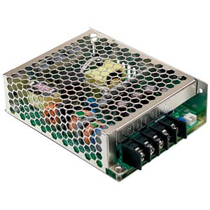 Switching power supply, PFC, 75 W, 5 V/15 A MEANWELL HRP-75-5