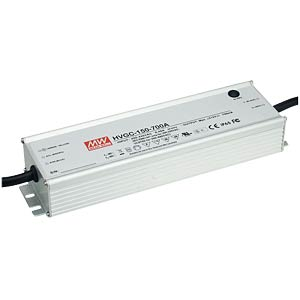 LED power supply, IP65, 150 W, 300 V/500 mA MEANWELL HVGC-150-500A