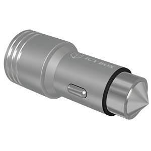 Dual USB car charger, 5 V DC, 3.1 A ICYBOX 60009