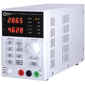 Labor-Kompaktnetzgerät 0-30V DC/0-5A DC, USB KORAD KA3005P