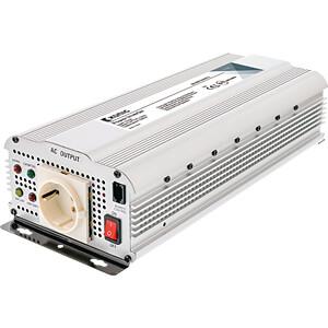 Wechselrichter, modifizierte Sinuswelle, 1000 W, Schutzkontakt KÖNIG KN-INV1000W12