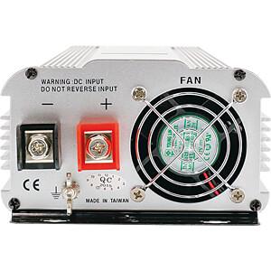 Wechselrichter, modifizierte Sinuswelle, 1500 W, Schutzkontakt KÖNIG KN-INV1500W12