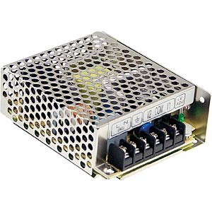 switching power supply, 38,4 W, 0,8 A, 48 V MEANWELL RS-35-48