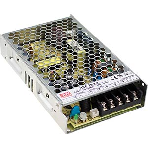 switching power supply, 75,6 W, 5,6 A, 13,5 V MEANWELL RSP-75-13.5