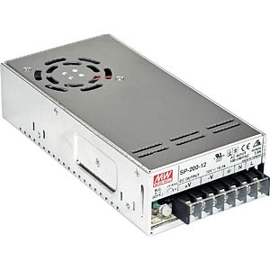 switching power supply, PFC, 201,1 W, 13,5 V / 14,9 A MEANWELL SP-200-13.5