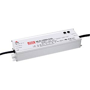 Led-schakelvoeding, 156 W, 12 V,13 A, IP67 MEANWELL HLG-185H-12