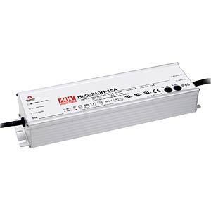 LED-switching power supply, 192 W, 12 V, 16 A, IP67 MEANWELL HLG-240H-12