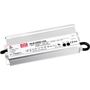 LED-switching power supply, 264 W, 12 V, 22 A, IP67 MEANWELL HLG-320H-12